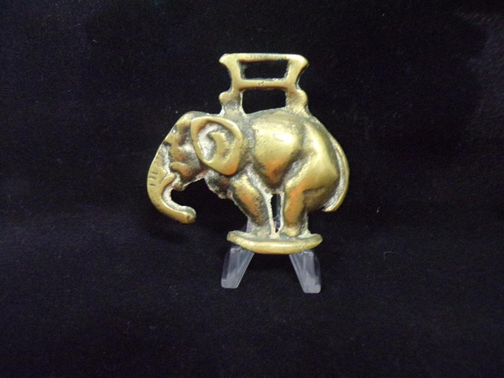 Elephant Saddle Medalion