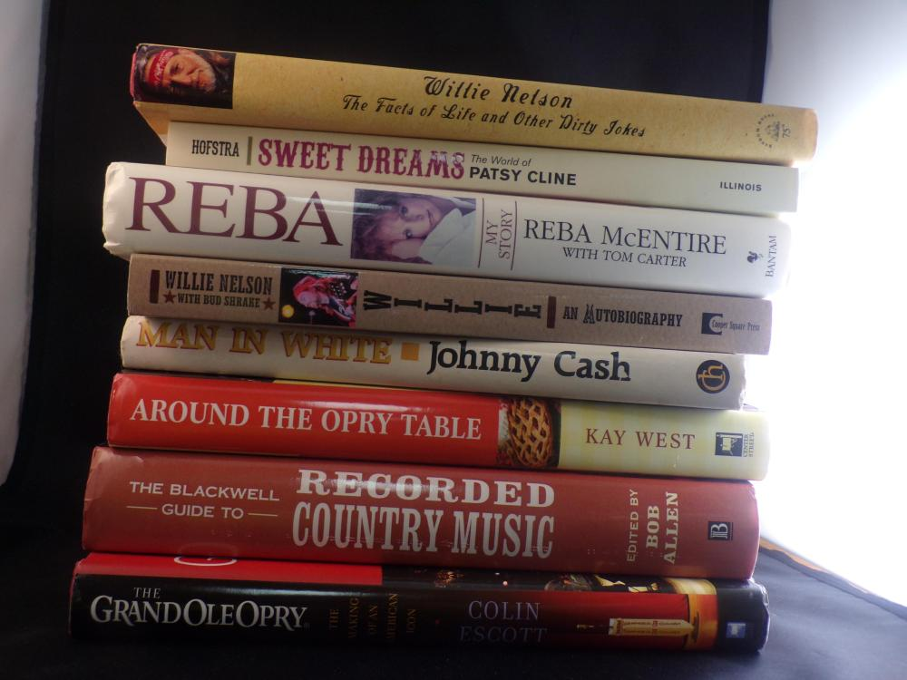 Lot of 8 Country Western Music Books