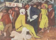 Maurice SAVIN (1894-1973) La foire