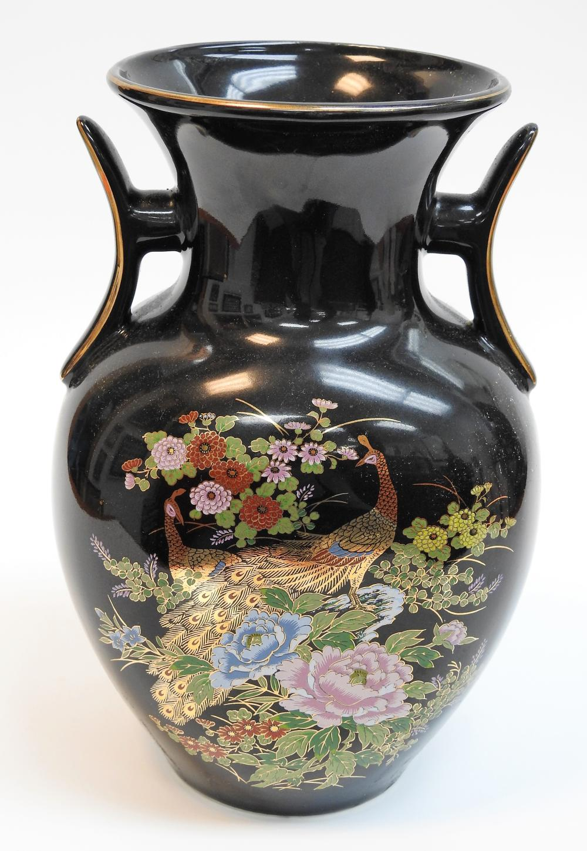 Details about  /Poinsettia Lace Porcelain Vase In Original Box Vintage