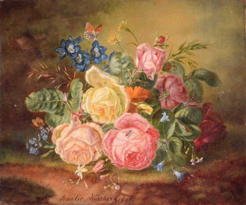 AMALIE KÄRCHER (ACT.1850-1926)