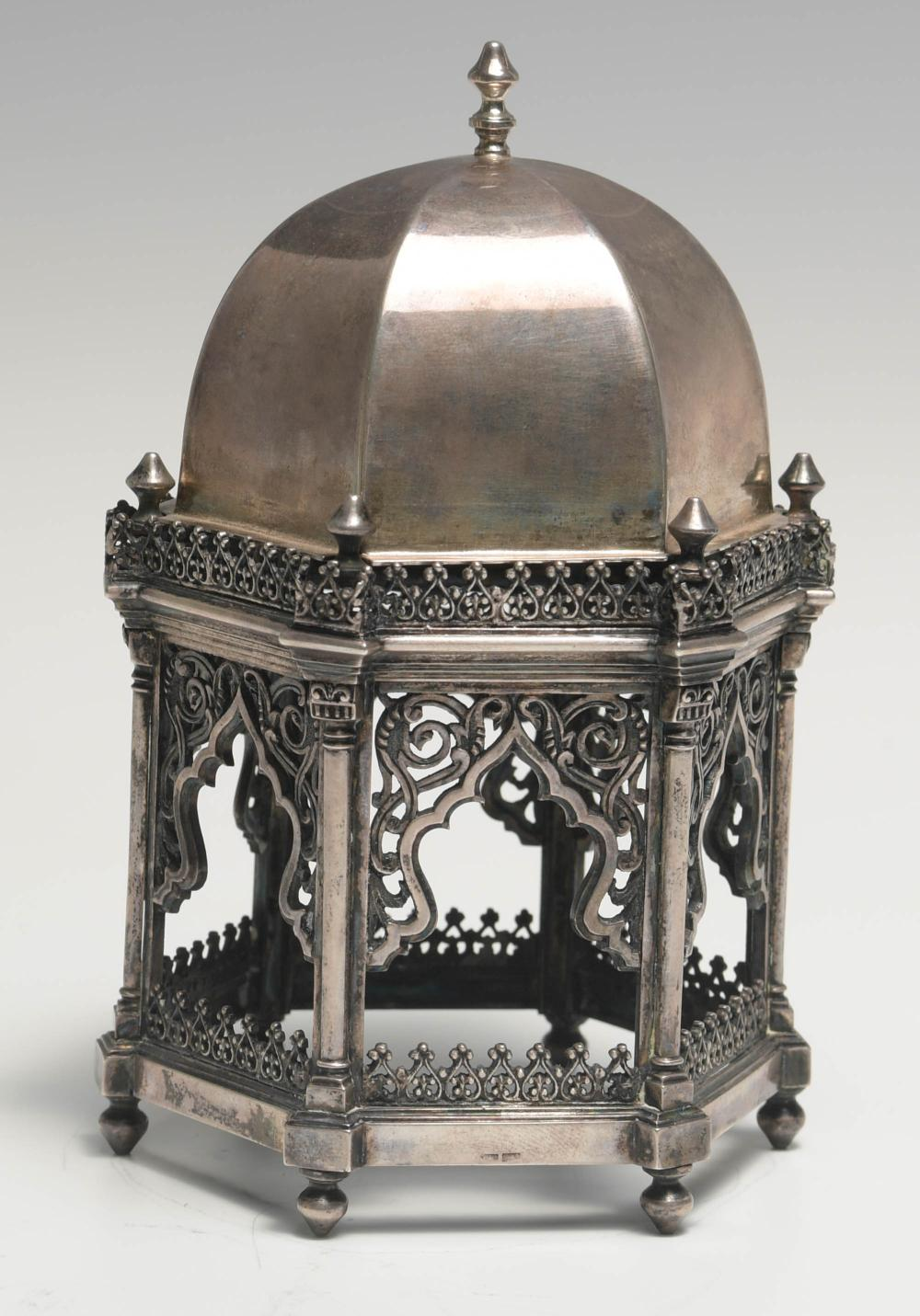 INDIAN SILVER PAGODA TEMPLE