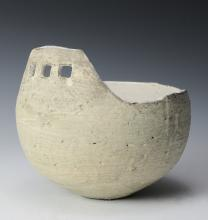 Asymmetrical Ceramic Bowl, Ani Kasten
