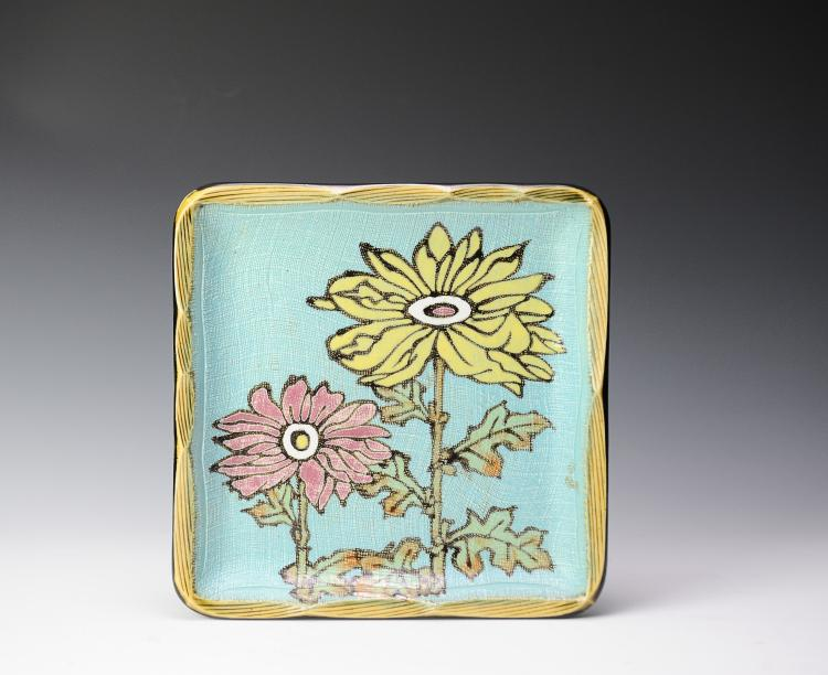 Ceramic Flower Tray