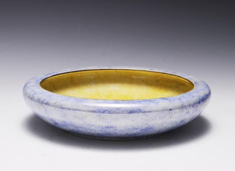 Luster Ware Shallow Bowl, Stoke on Trent