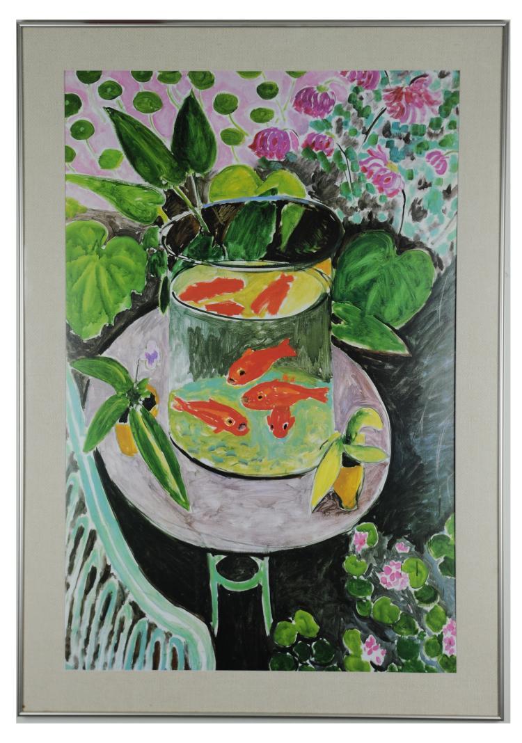 Framed Print of The Goldfish, 1912, Henri Matisse