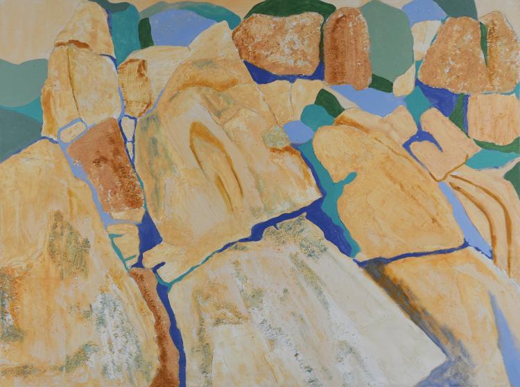 Textured Abstract, Mary Howard