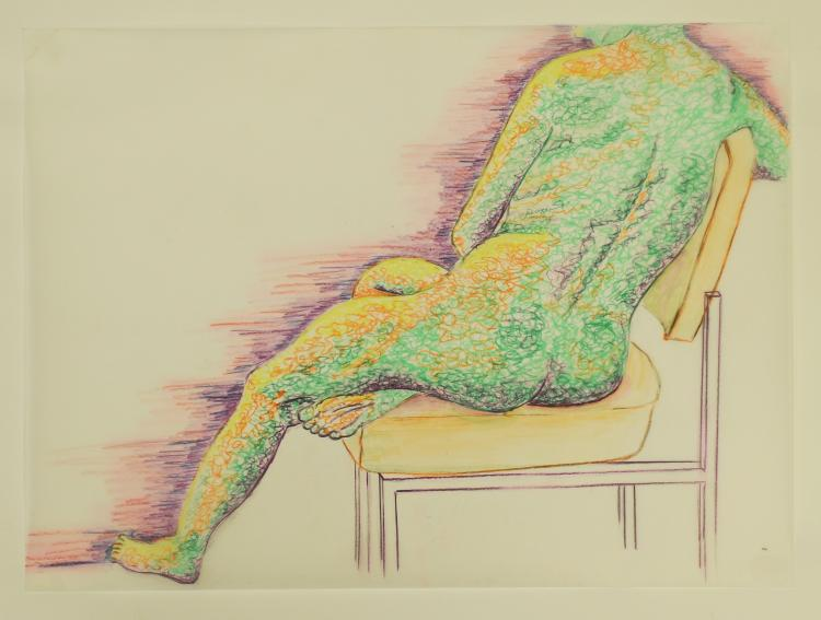Neon Portrait of a Nude, Mary Howard