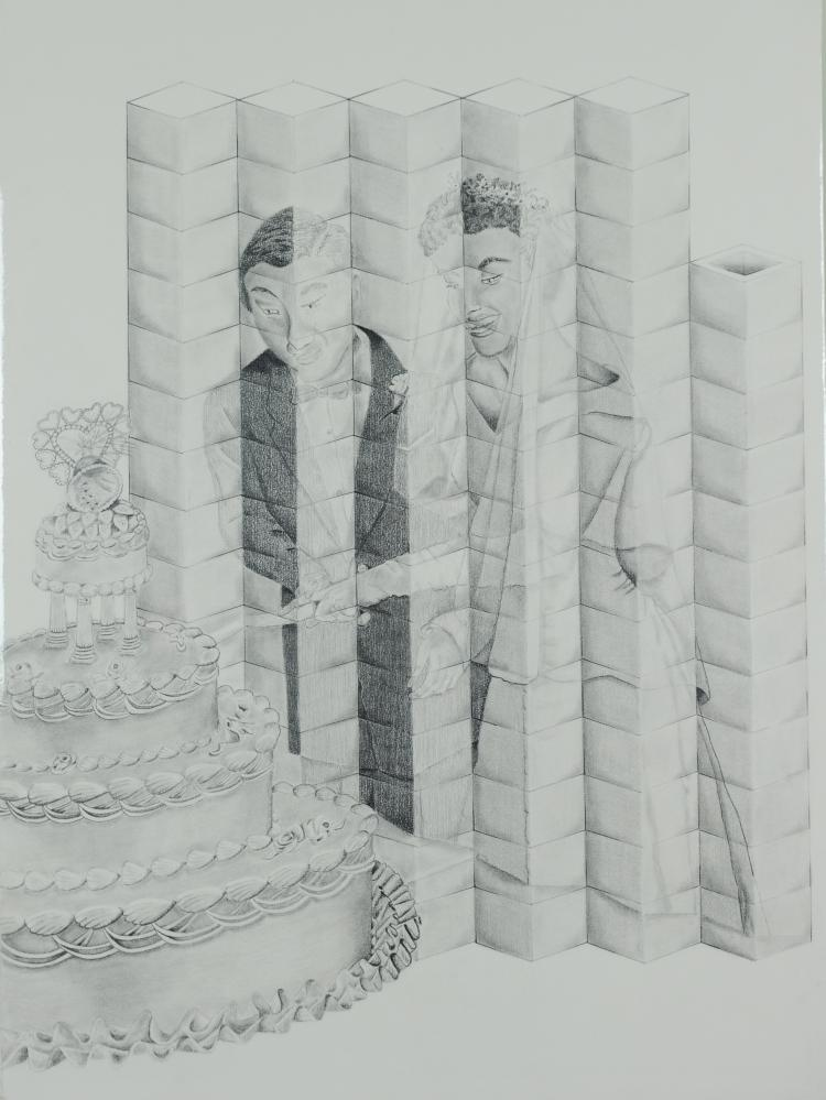 Cake Cutting Ceremony, Mary Howard