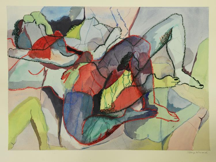 Figural Abstract, Mary Howard