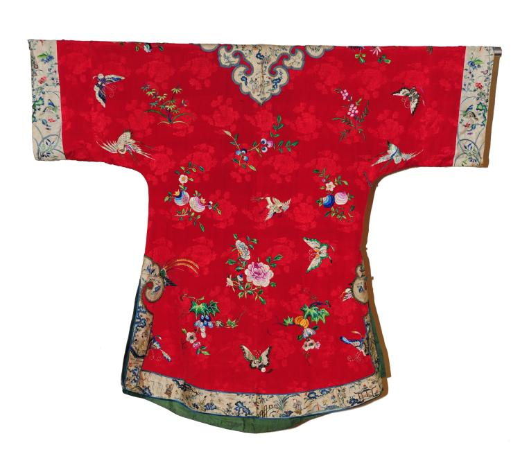 Red Woman's Robe, 19th Century