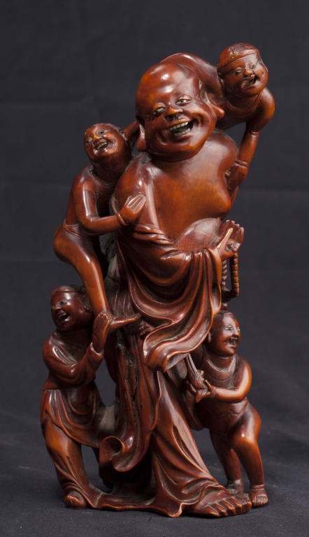 A Boxwood Carving, Early 20th Century