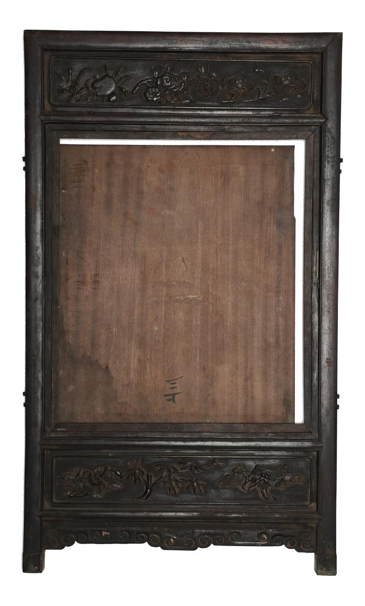 Hardwood Window Frame, 19th Century