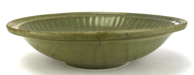 Longquan Celadon Plate, Early Ming Dynasty