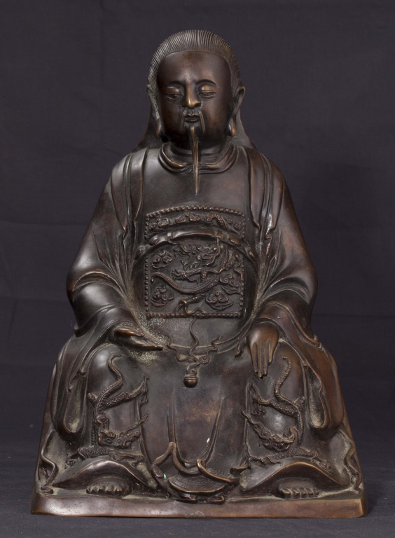 Bronze Zhenwu, 19th to Early 20th Century