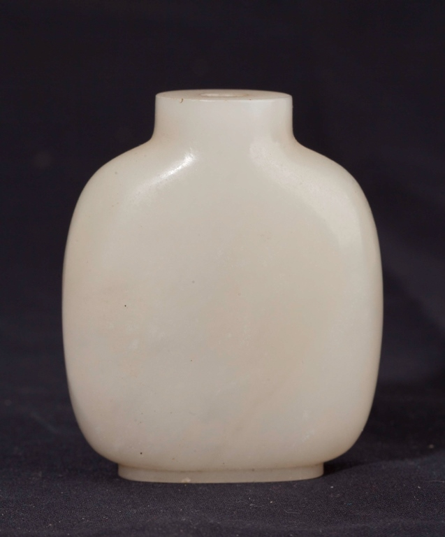 A White Jade Snuff Bottle, 19th Century