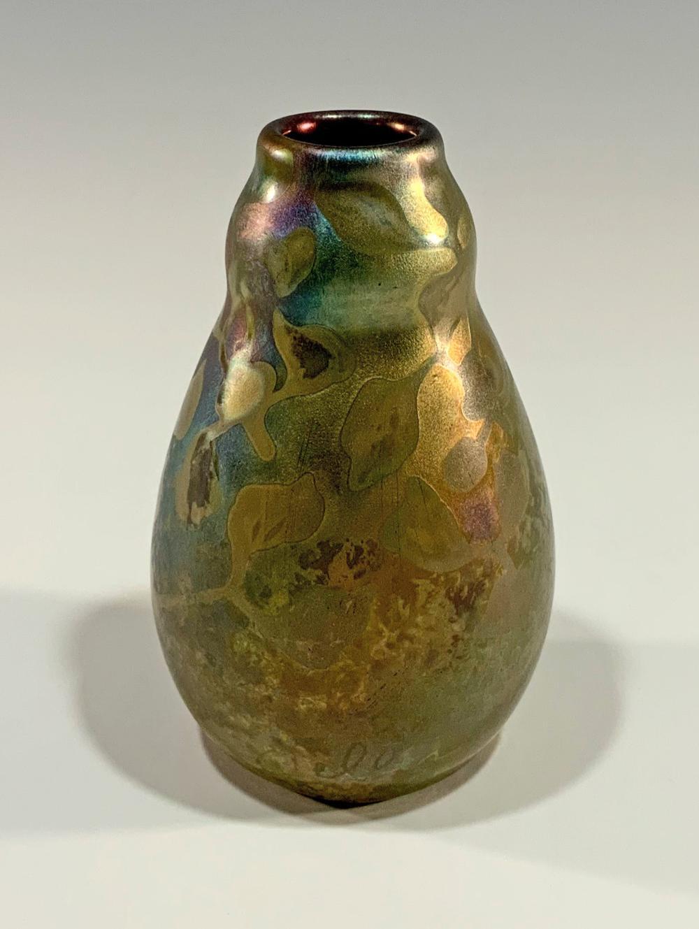 WELLER JACQUES SICARD ART POTTERY VASE C- 1905