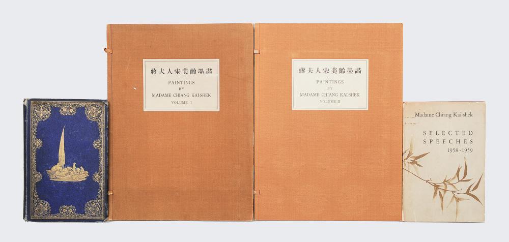 4 BOOKS SIGNED BY MADAME CHIANG KAI-SHEK
