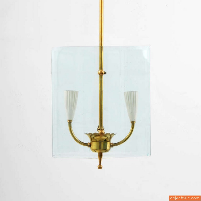 Pendant Light Attributed to Pietro Chiesa
