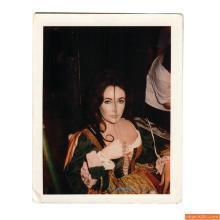 Polaroid of Elizabeth Taylor, Tiziani Archives