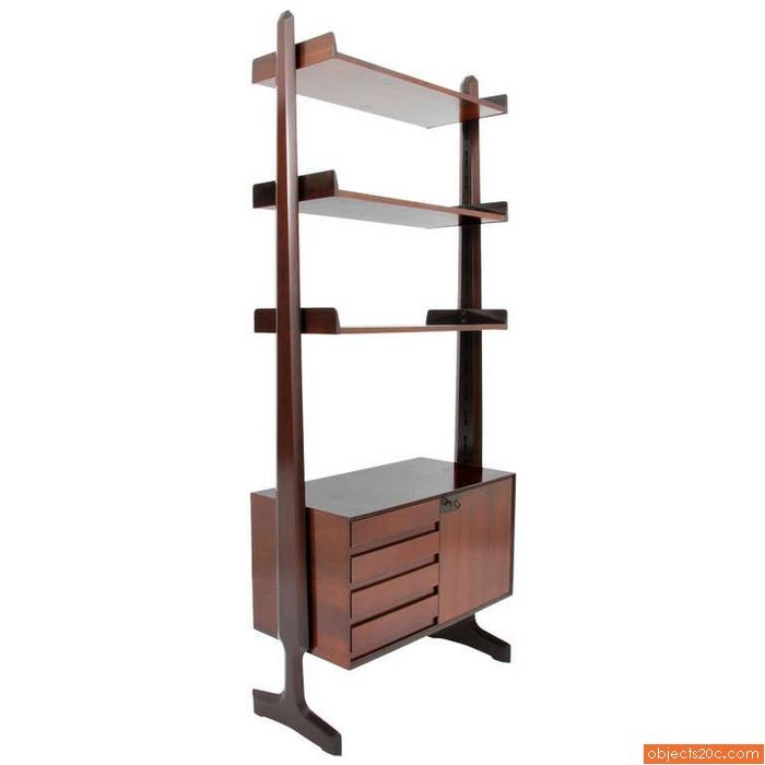 Vittorio Dassi Free Standing Bookcase