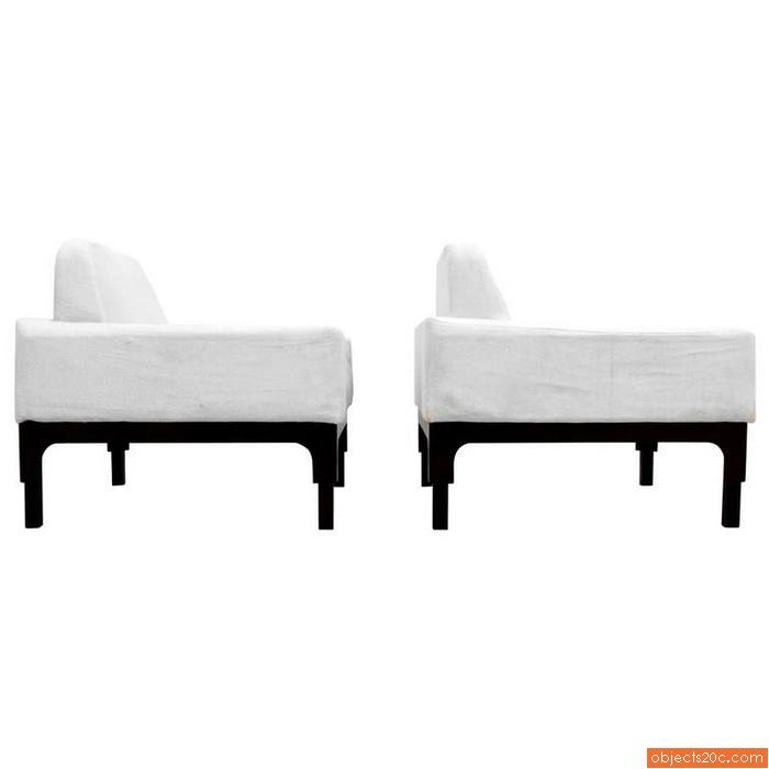 Pair of Elan Lounge Chairs