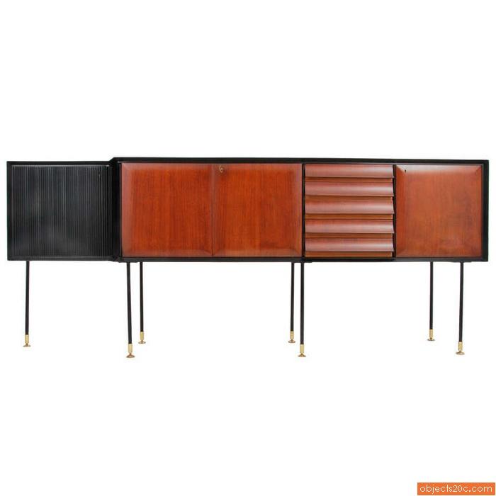 Large Cabinet Attributed to Osvaldo Borsani