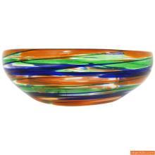 Rare PENNELLATE Bowl by Carlo Scarpa for Venini