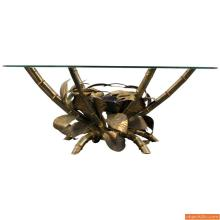 Christian Techoueyres Coffee Table with Agate Decoration
