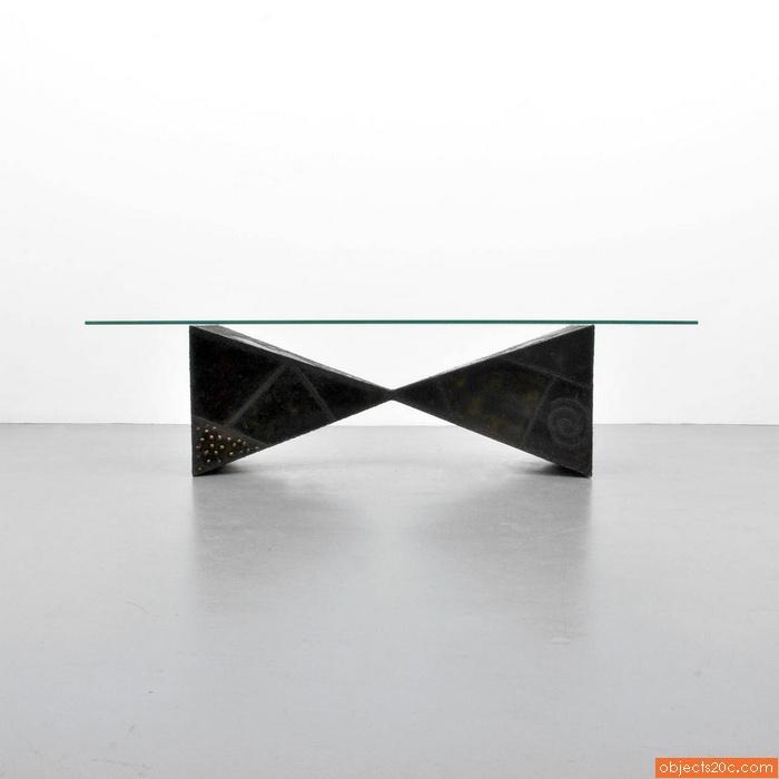Paul Evans Pyramid Coffee Table