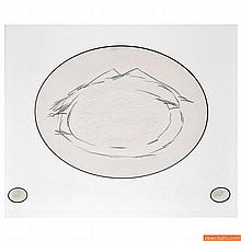 Antoni Tapies Embossed Lithograph, Signed Edition