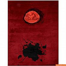 Large Adolph Gottlieb Tapestry/Rug
