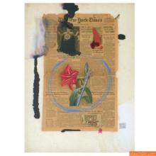 Michaele Vollbracht Mixed Media Painting, Original Work