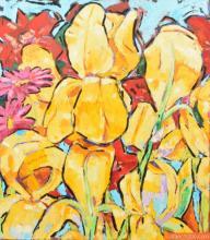 Large John Seery Painting, Original Work