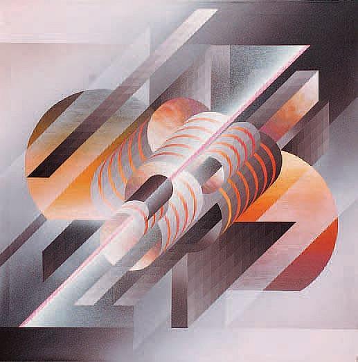 Mario Alberto Agatiello Saturn, 1999 Acrílico