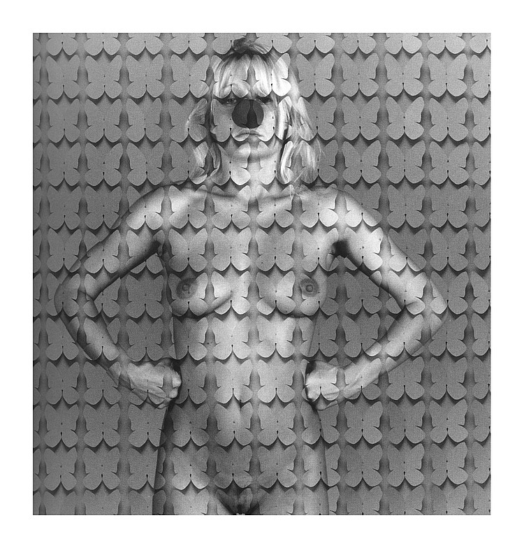 Fernando Bellver El coleccionista de mariposas  Fotografia manipulada. Edición 1/7  S/f  150 x150 cm.