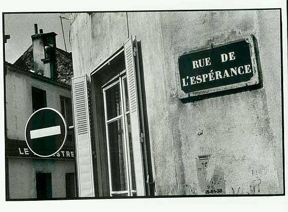 Paolo Gasparini Rue de L'Esperance  Fotografía B/N  S/f  20 x 25.3 cm.