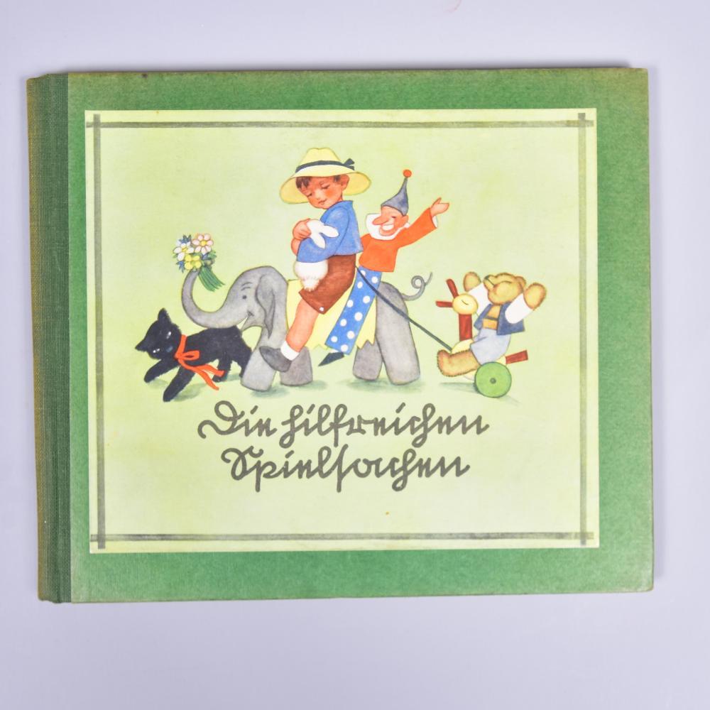 """""""Die hilfreichen Spielsachen"""", von Eva Schäfer-Luther, Rudolf Schneider Verlag/Reichenau/Sachsen, 1935/36, guter Zustand"""