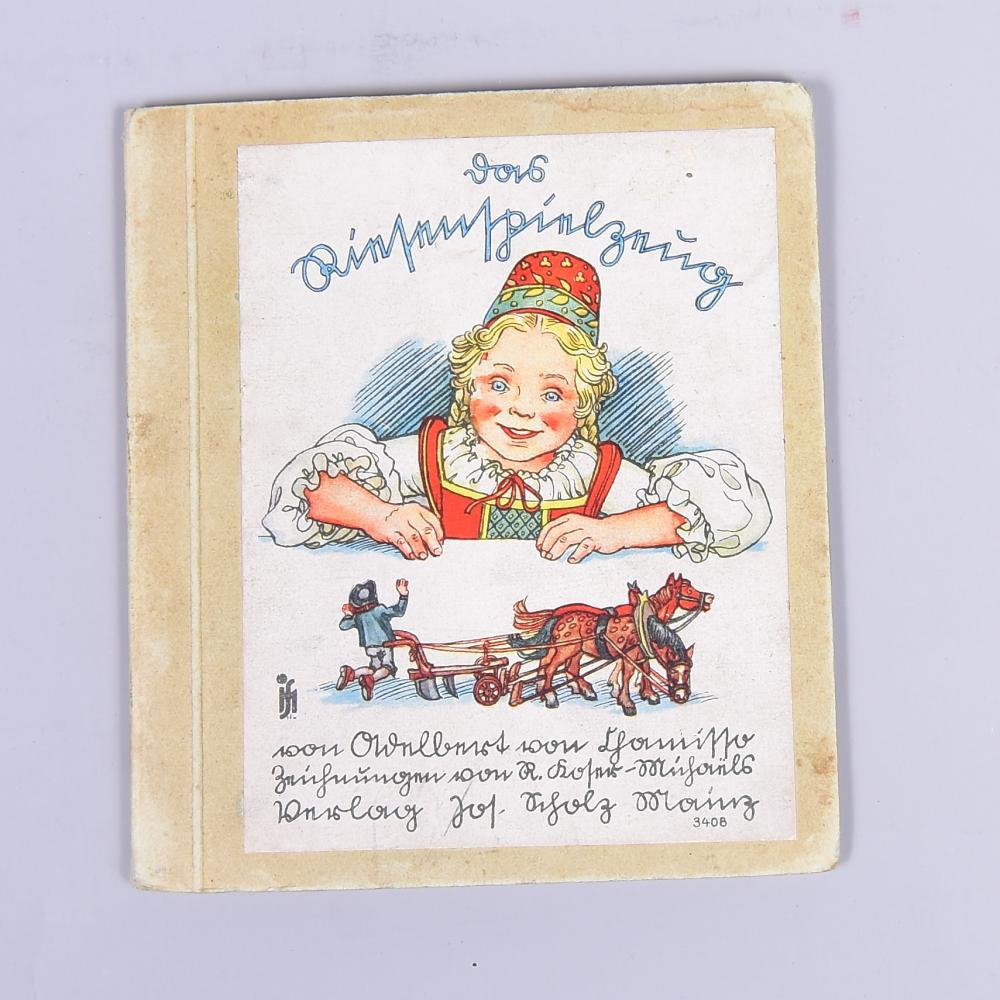 Das Riesenspielzeug, Adalbert von Chamisso, Verlag Josef Scholz/Mainz, um 1938, leichte Gebrauchssp.