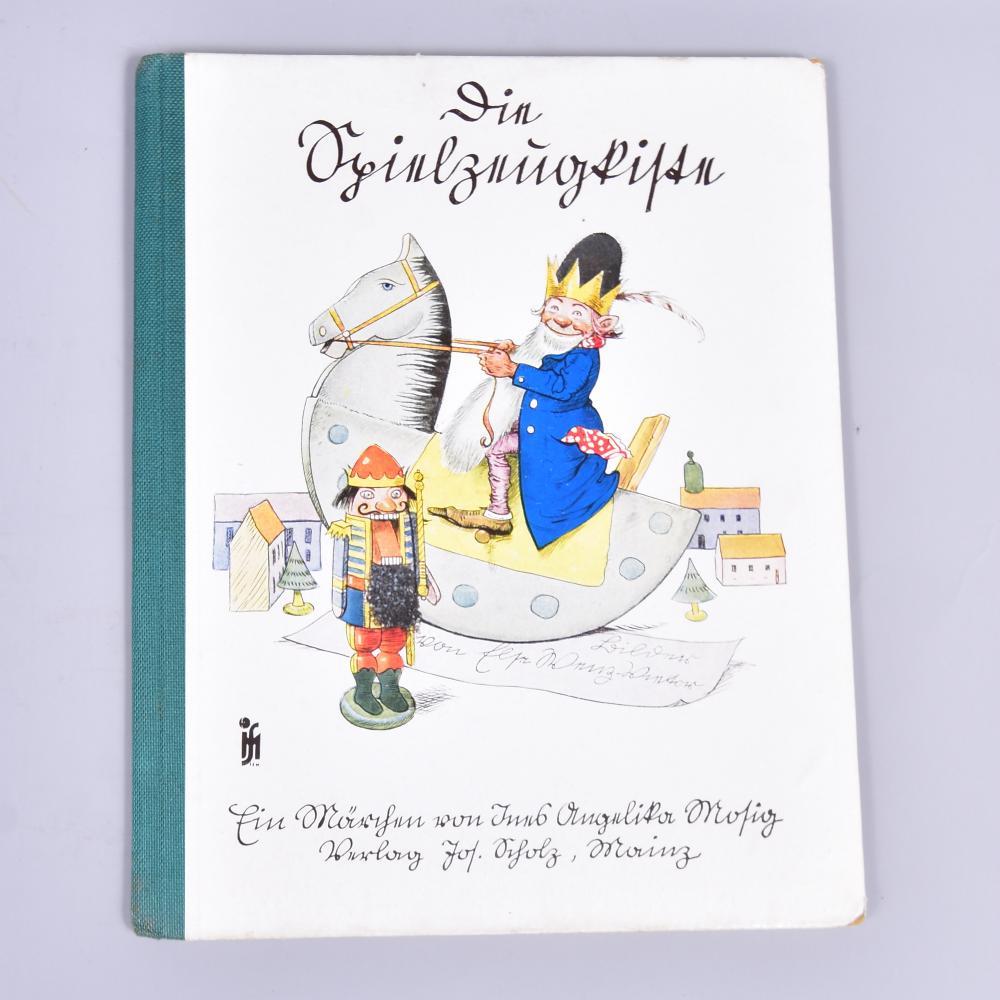 Die Spielzeugkiste, ein Märchen von Ina Angelika Mosig, Verlag Josef Scholz/Mainz, um 1935, guter Zustand