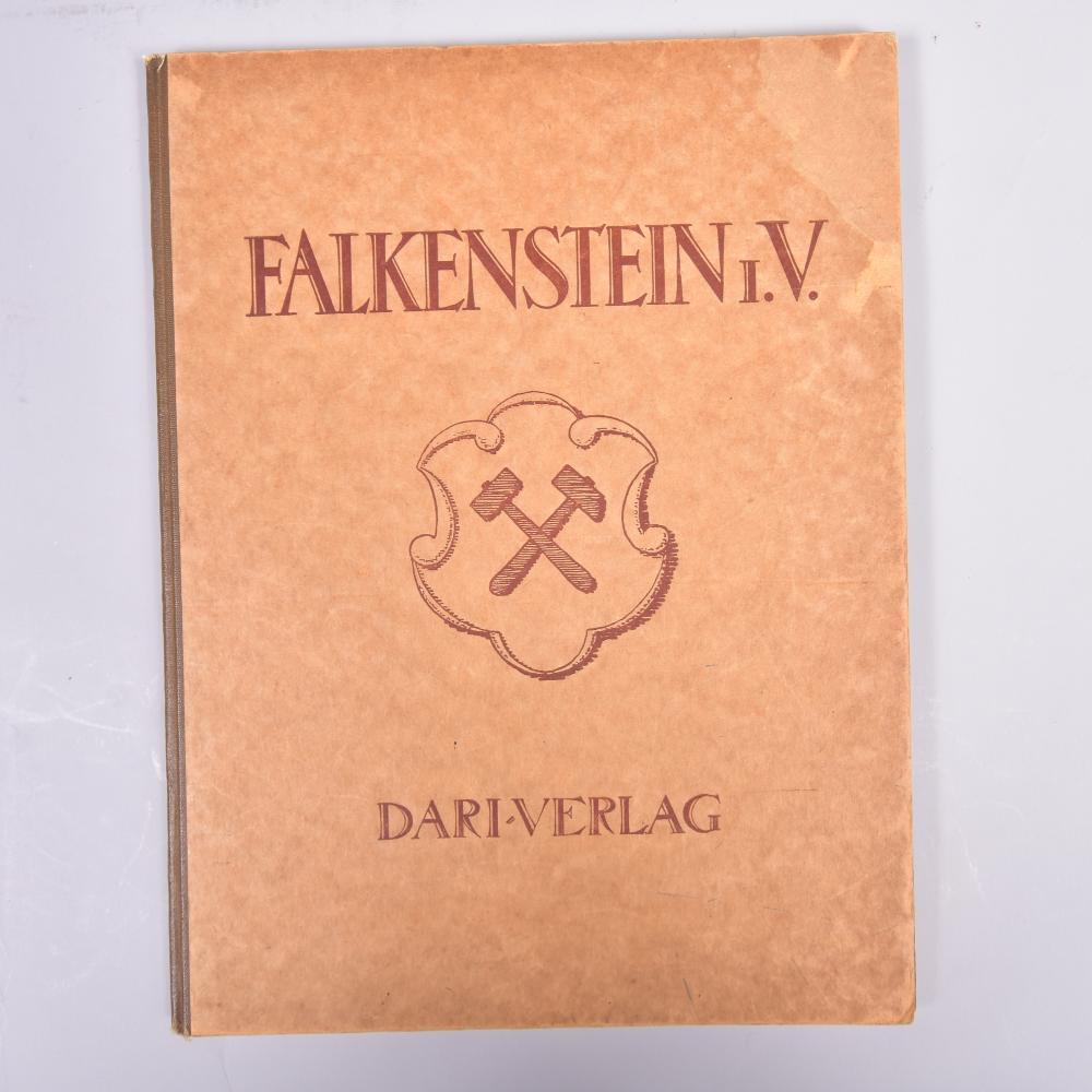 """""""Falkenstein i. V."""", Deutschlands Städtebau, herausgeg. v. Rat d. Stadt Falkenstein i.V., DARI - Deutscher Architektur-und Industrie-Verlag, 1925, guter Zustand"""