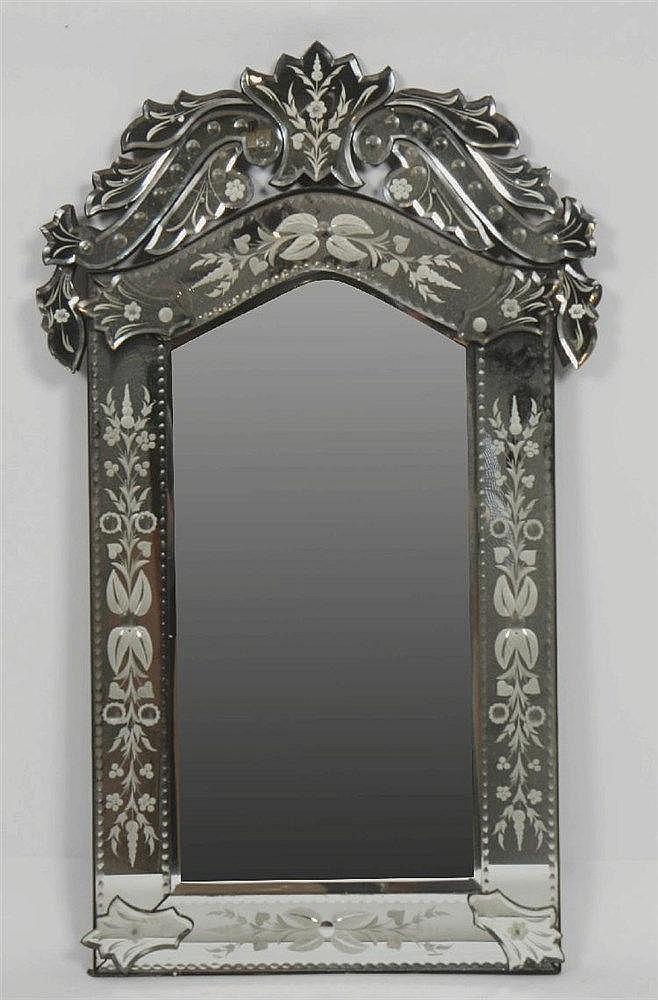 Miroir venitien for Miroir venitien rectangulaire