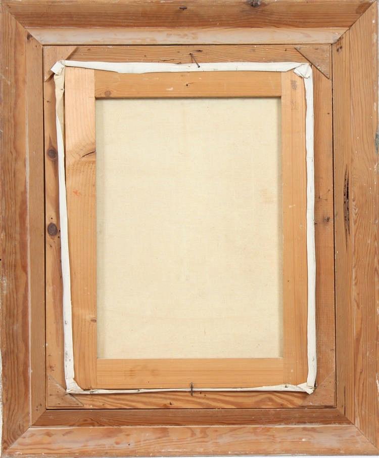 Tableau interieur oriental de mantel 1961 huile sur toile for De ceuster interieur