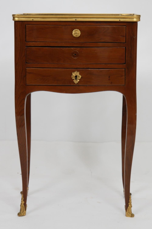 petite table de salon en bois naturel louis xv en bois d 39 ama. Black Bedroom Furniture Sets. Home Design Ideas