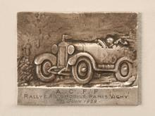 French 1929 Paris Vichy Auto Club Medal