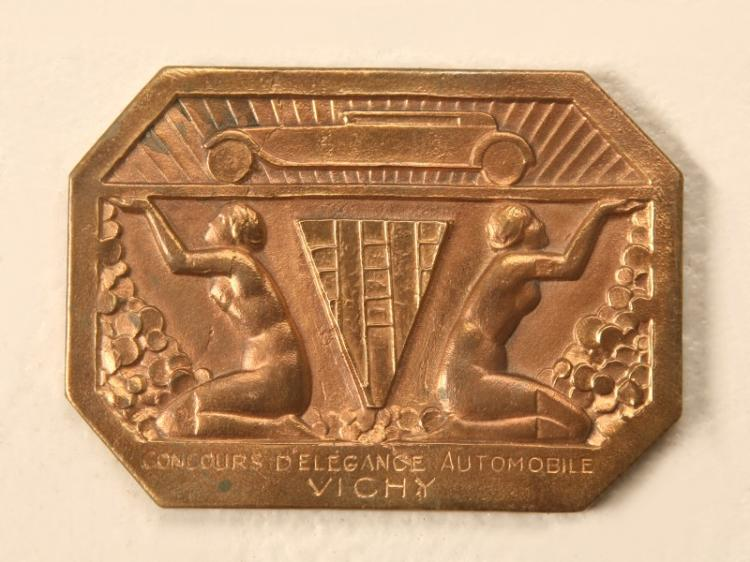 French Art Deco Vichy Souvenir