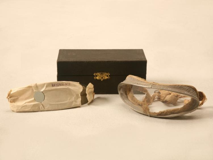 1900s Vintage Rayonnante Driving Goggles