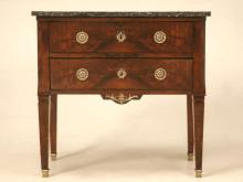 Petite Empire Walnut Commode