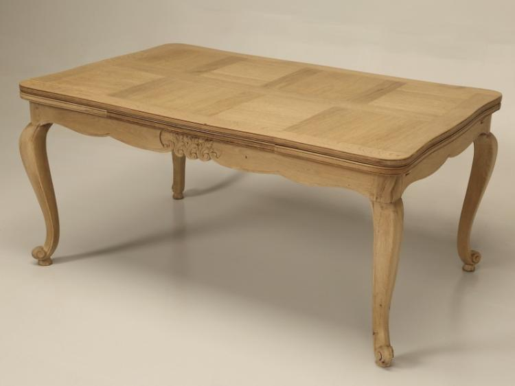 French Draw-Leaf Dining Table
