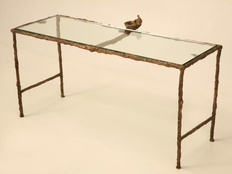 Giacometti Inspired Solid Bronze Coffee Table